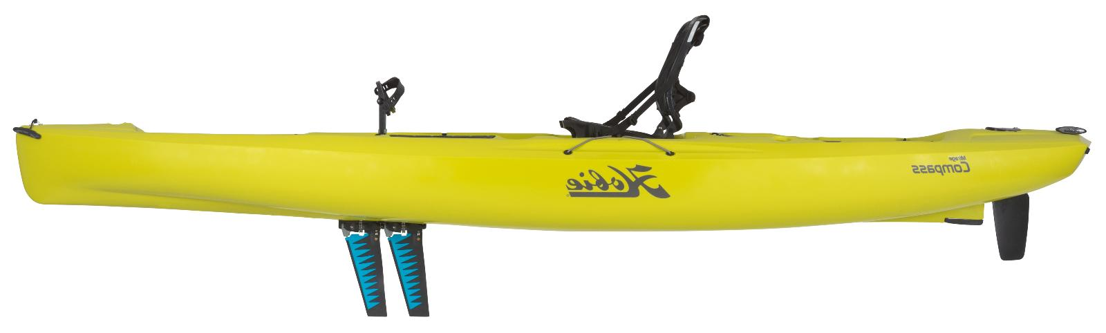 2018 Hobie Mirage Compass Pedal Fishing Seagrass