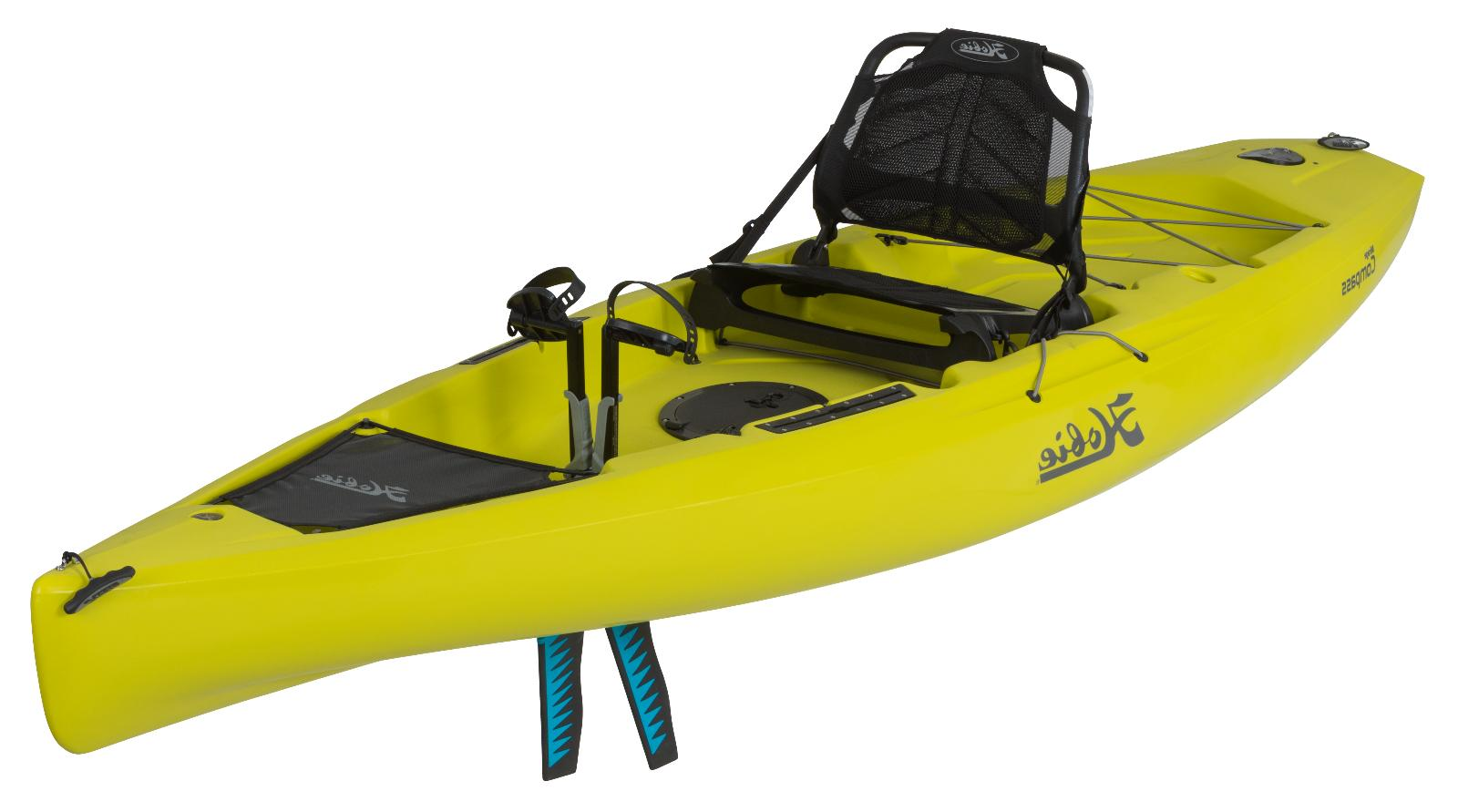 2018 Hobie Mirage Compass Pedal Fishing Kayak - Seagrass