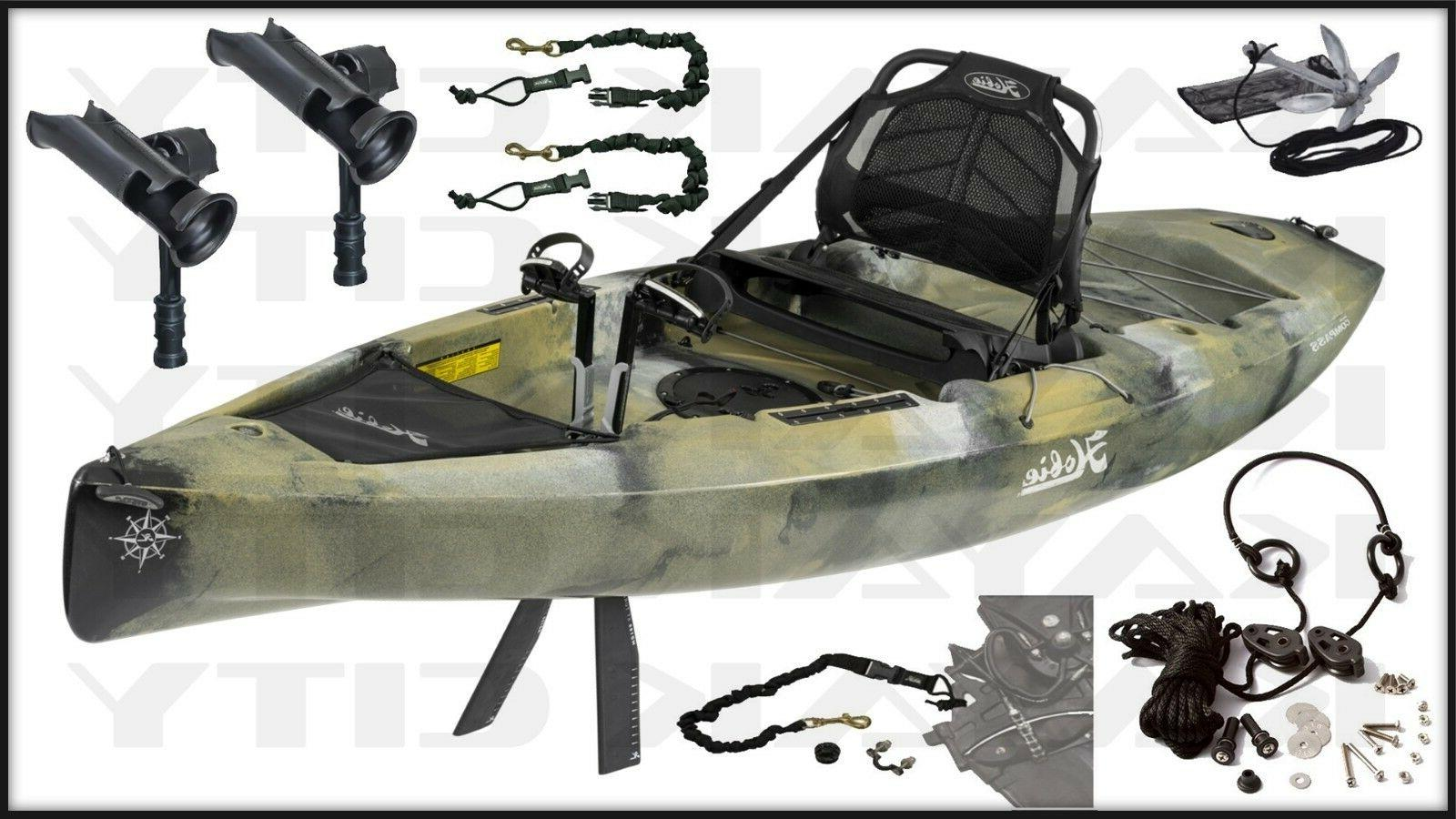 2019 mirage compass kayak fishing package multiple