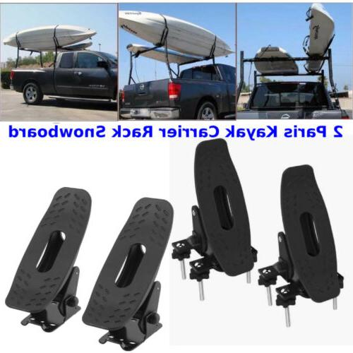 2pair saddle kayak carrier rack top roof