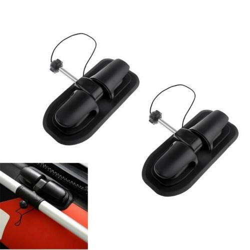 2 pieces inflatable boat oar lock patch