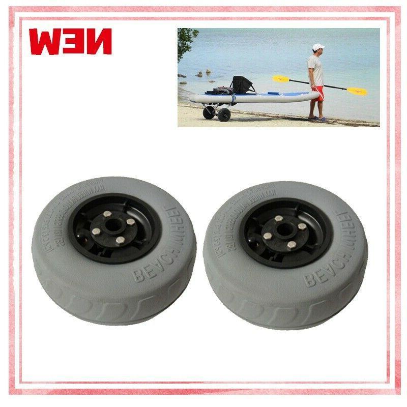 2pcs For Beach Pneumatic Wheel US