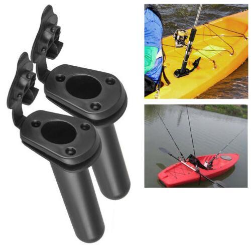 2x flush mount fishing boat rod holder