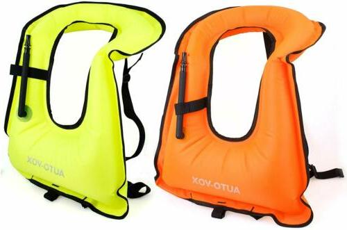 2xPack Adult Snorkeling Vest Kayaking