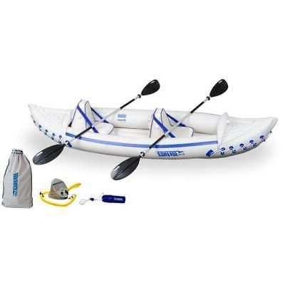 330 professional 2 person inflatable kayak canoe