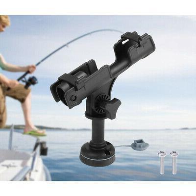 360 swivel fishing rod holder kayak up