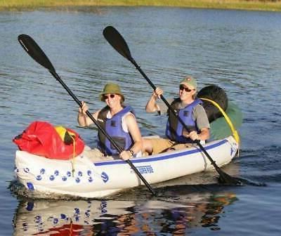 SEA 370 3 Person Inflatable Kayak Canoe