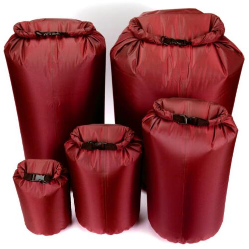 4-80L Red Water Waterproof Bag for Canoe Rafting