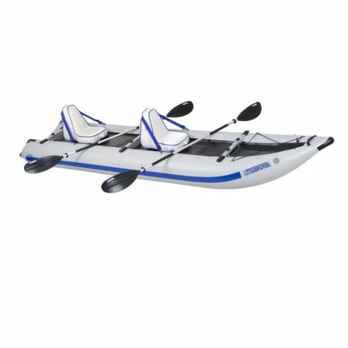 435 paddle ski catamaran inflatable