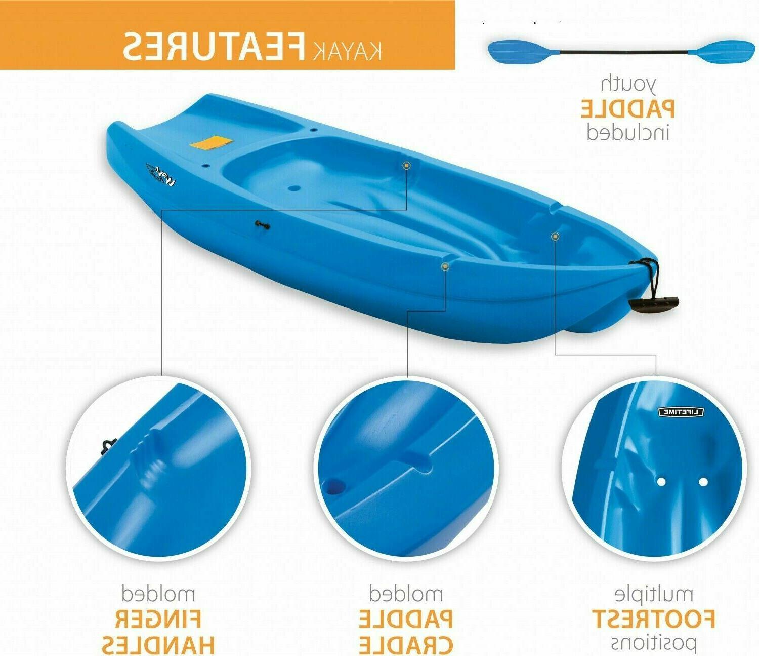 Lifetime Youth Paddle Blue