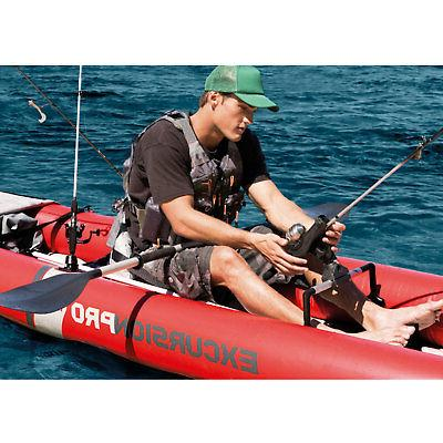 Inflatable Kayak with Oars Pump,