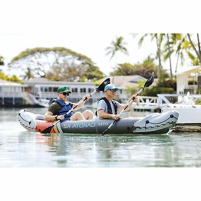 Intex 68310VM 2 Person Kayak Oars Pump