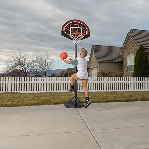 Lifetime Adjustable Portable Basketball System