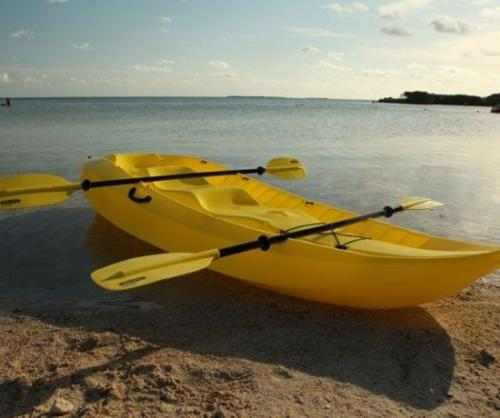 Lifetime Kayak Yellow
