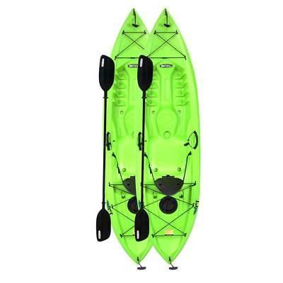 90643 Lifetime Tioga 10' Fishing Kayaks Paddles