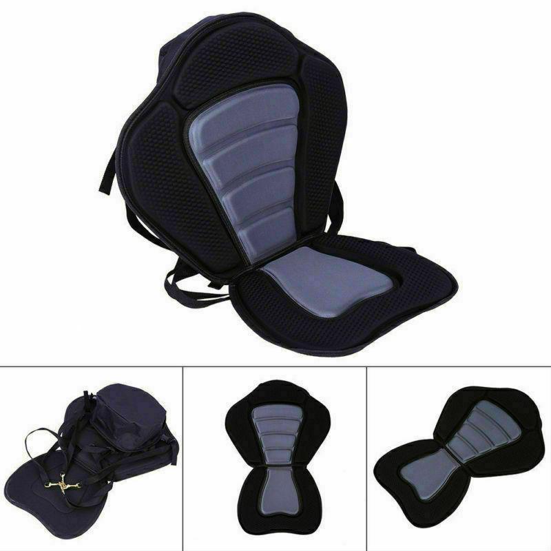 Adjustable Deluxe Seat Detachable Back Backpack/Bag Canoe Backrest
