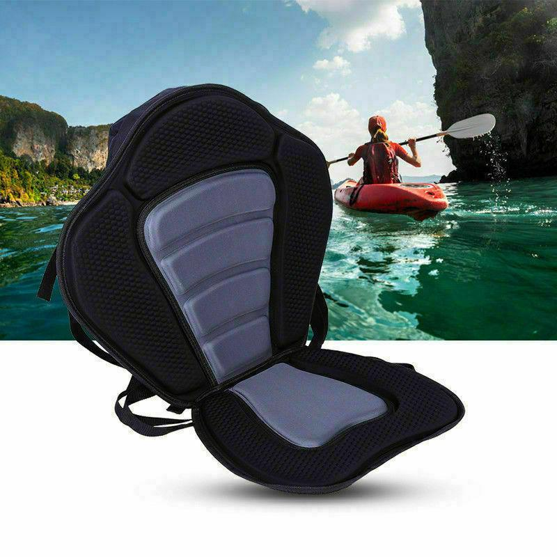 Adjustable Deluxe Kayak Seat Detachable Back Canoe