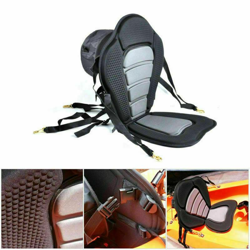 adjustable padded deluxe kayak seat detachable back