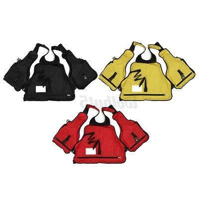 Adult Adjustable Life Jacket Marine Reflective Sailing Fly Vest