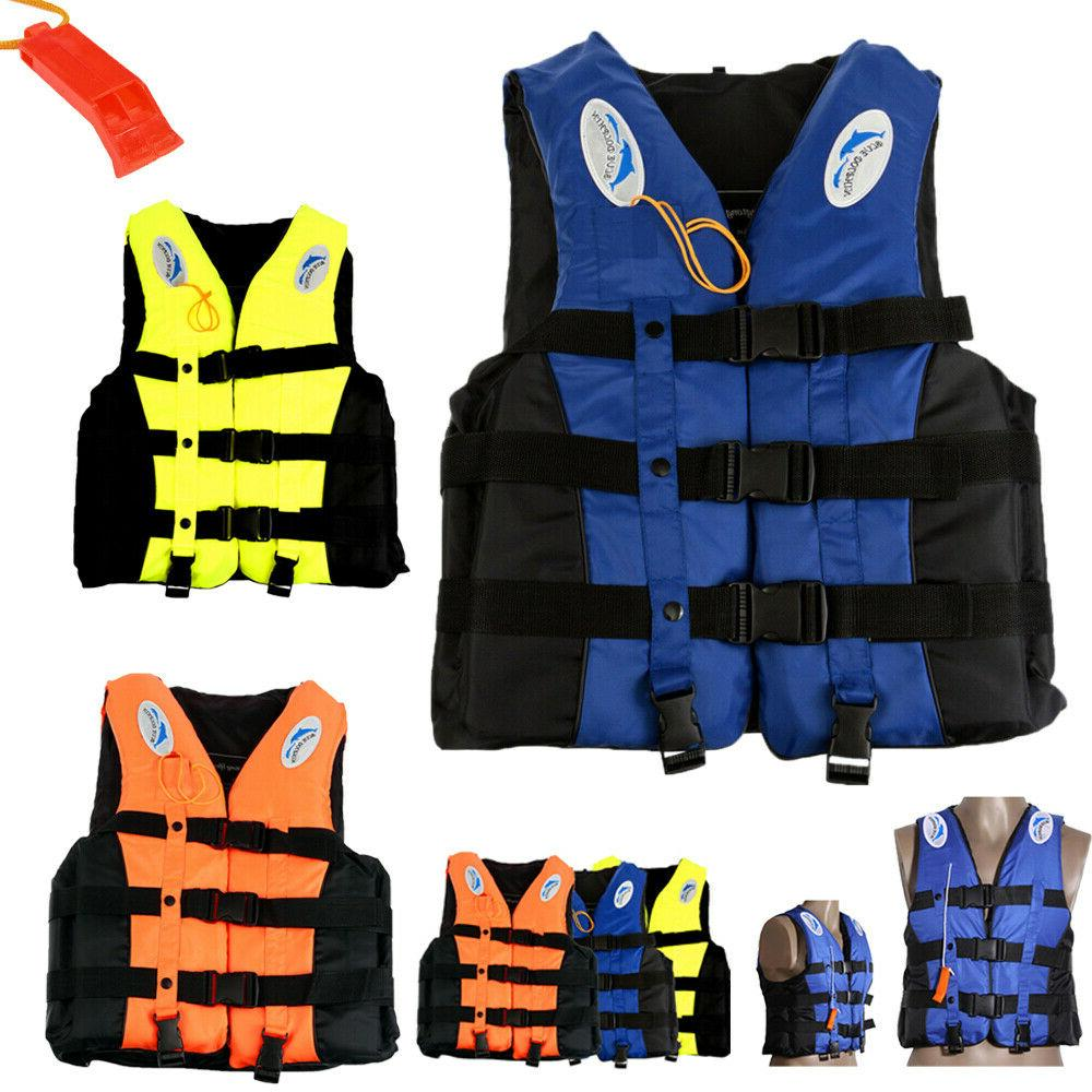Adults Kids Life Aid Vest Ski Watersport