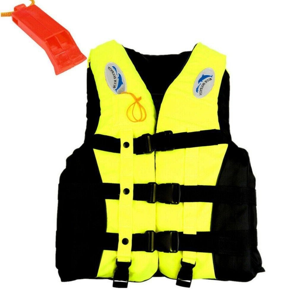 Adults Jacket Aid Ski Fishing Boat Watersport