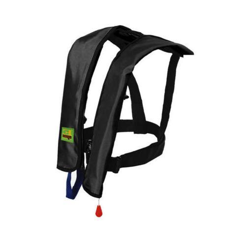 Adults Manual Life Jacket Vest Inflatable Kayak Fishing