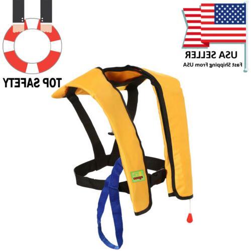 Adults Jacket Vest Inflatable Aid Kayak