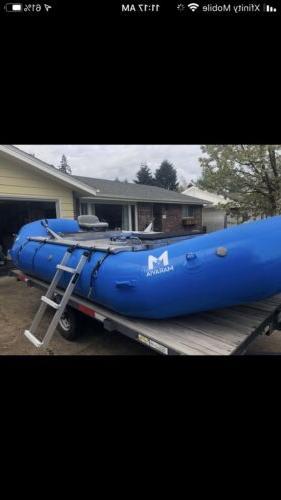 aluminum raft ladder whitewater kayak boat outdoor