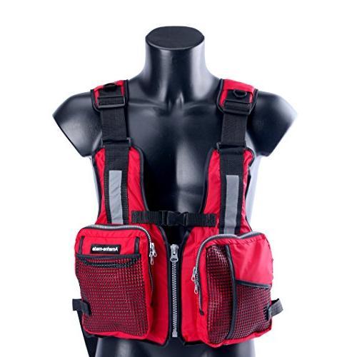 Amairne-Made Sailing Kayak Jacket - D11 - Red