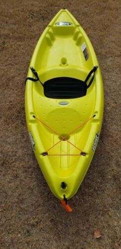 Pelican Apex 80XE Sit-On-Top Kayak yellow/White River lake f
