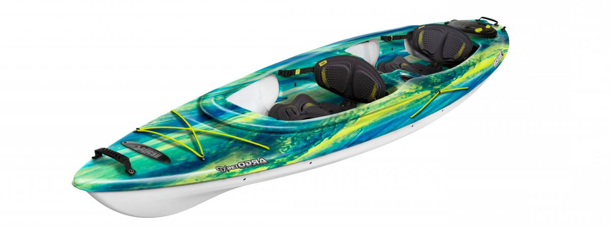 argo 136xp new tandem kayak borealis