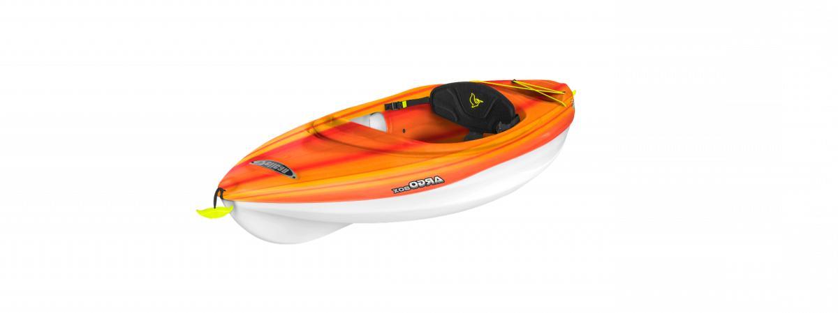 argo 80x new kayak orange