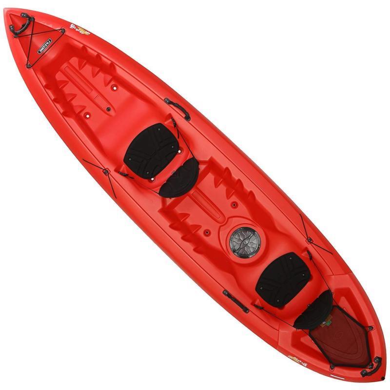 beacon tandem kayak red 12 rivers lakes
