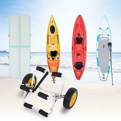 Kayak Canoe Carrier Transport Cart Wheel