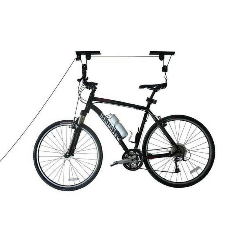 Bicycle Storage Hoist Hanger Pulley System