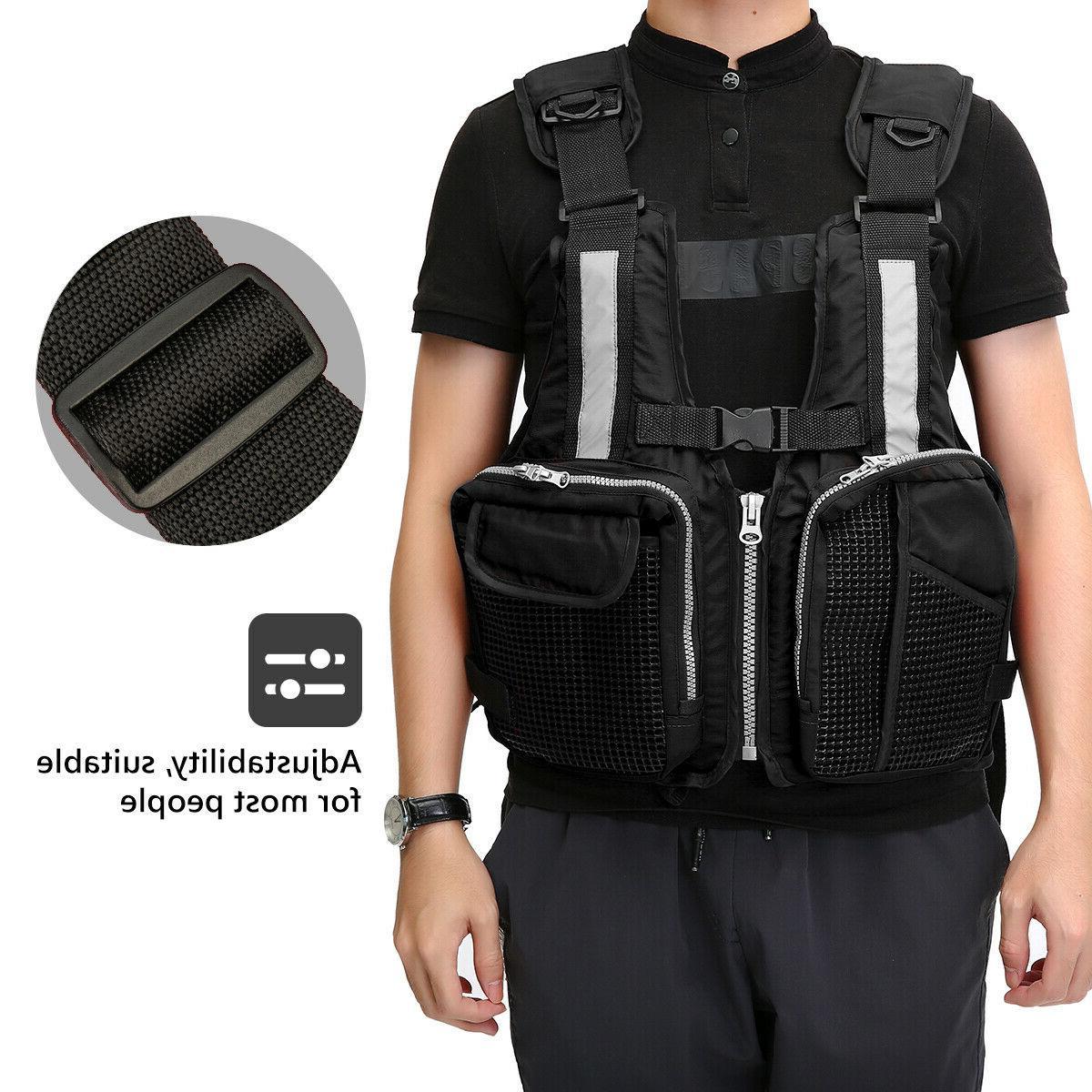 Men/Women Adjustable Vest Buoyancy Canoeing