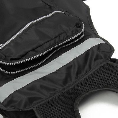 Black adjustable Sail Fishing Life Jacket Vest