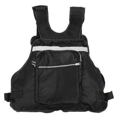 Black Sail Canoeing Fishing Life Jacket Vest