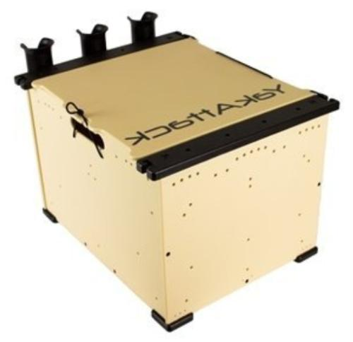 blackpak kayak angler crate system includes lid