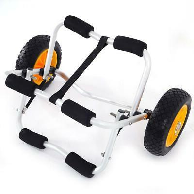 Kayak Canoe Jon Boat Carrier Dolly Trailer Trolley Transport