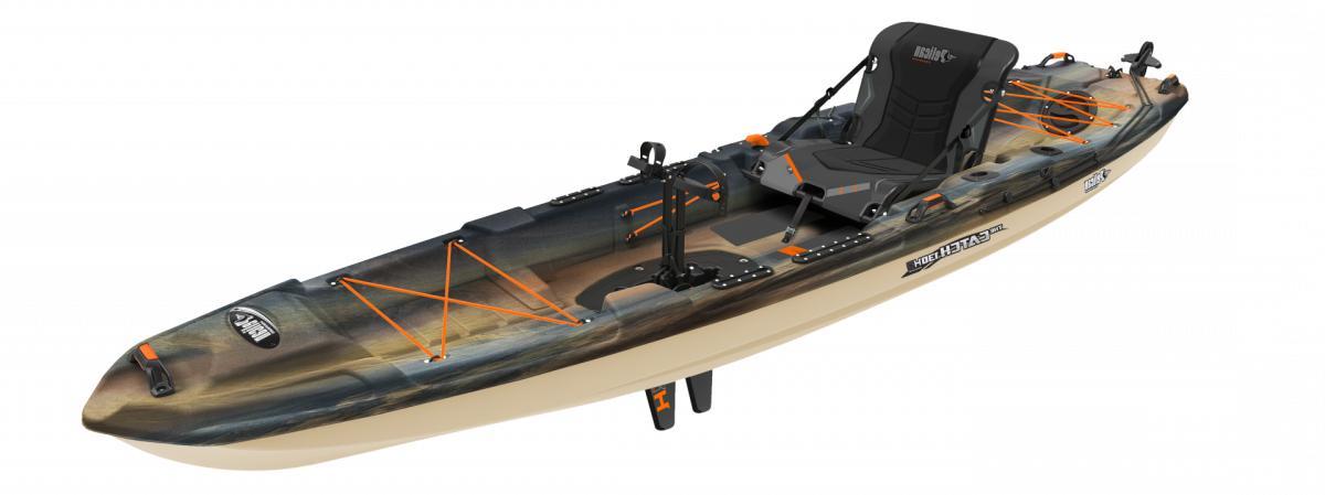 catch 130 hydryve pedal kayak