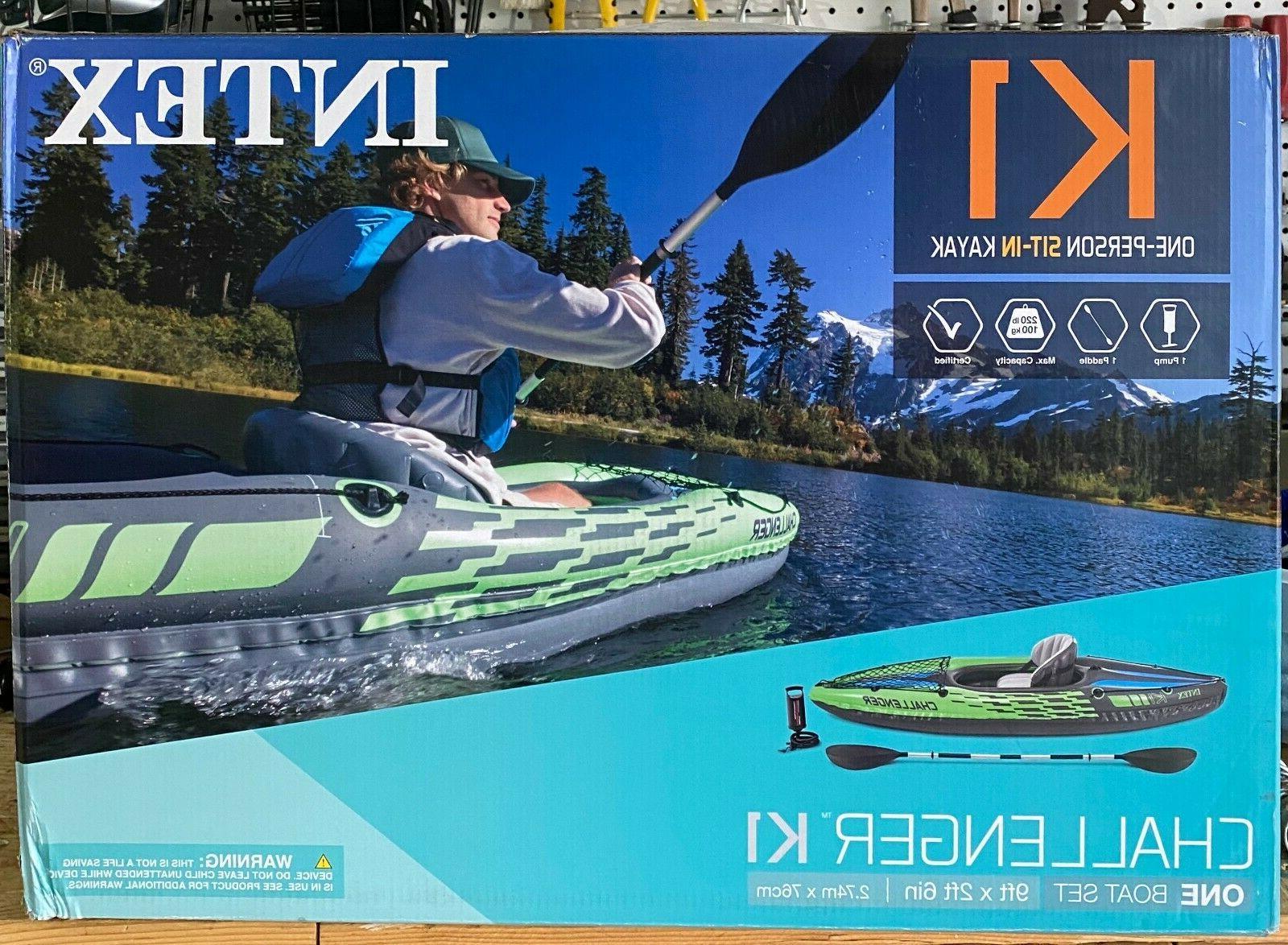 🔥Intex Challenger K1 1-Person Kayak Oars