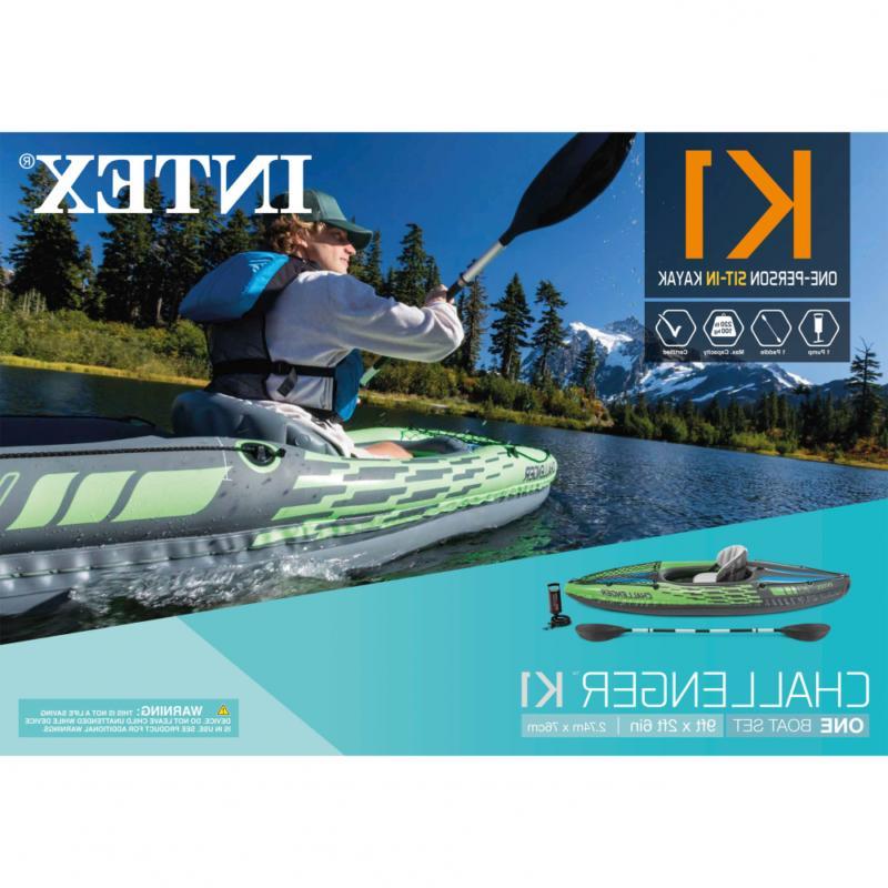Intex Kayak with and