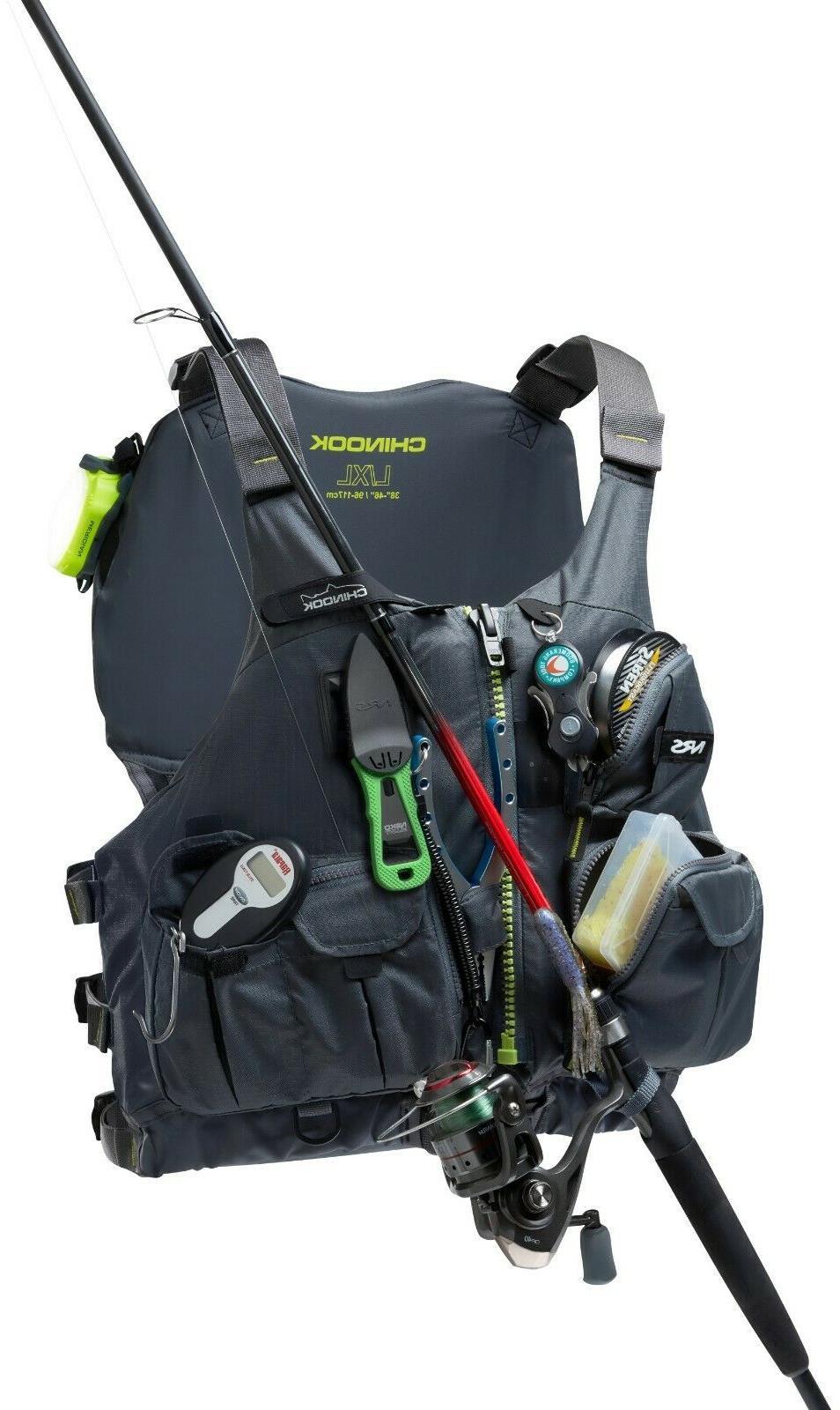 NRS Chinook Fishing Kayak Lifejacket
