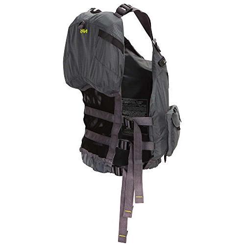 NRS Lifejacket-Charcoal-L/XL