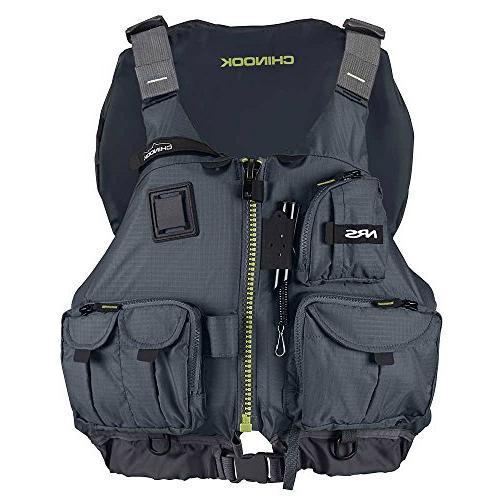NRS Chinook Lifejacket-Charcoal-L/XL