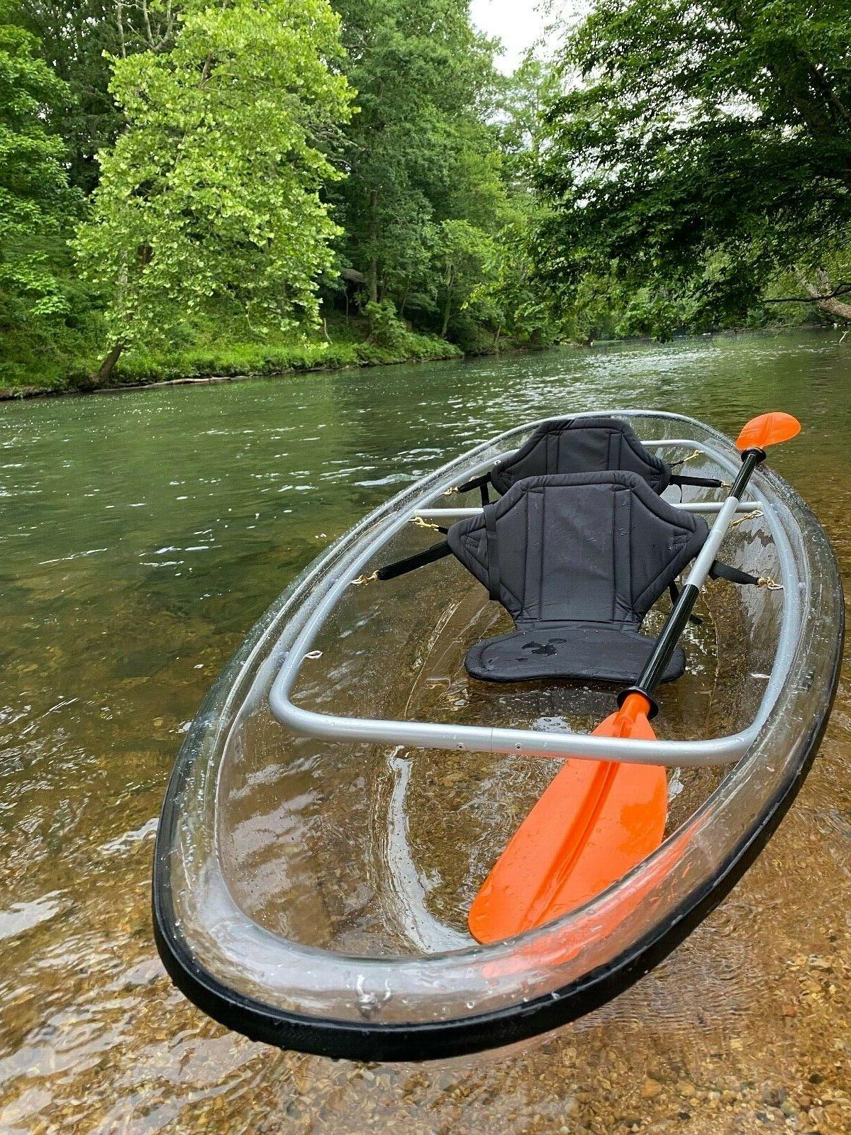 clear transparent canoe kayak 11 long 3
