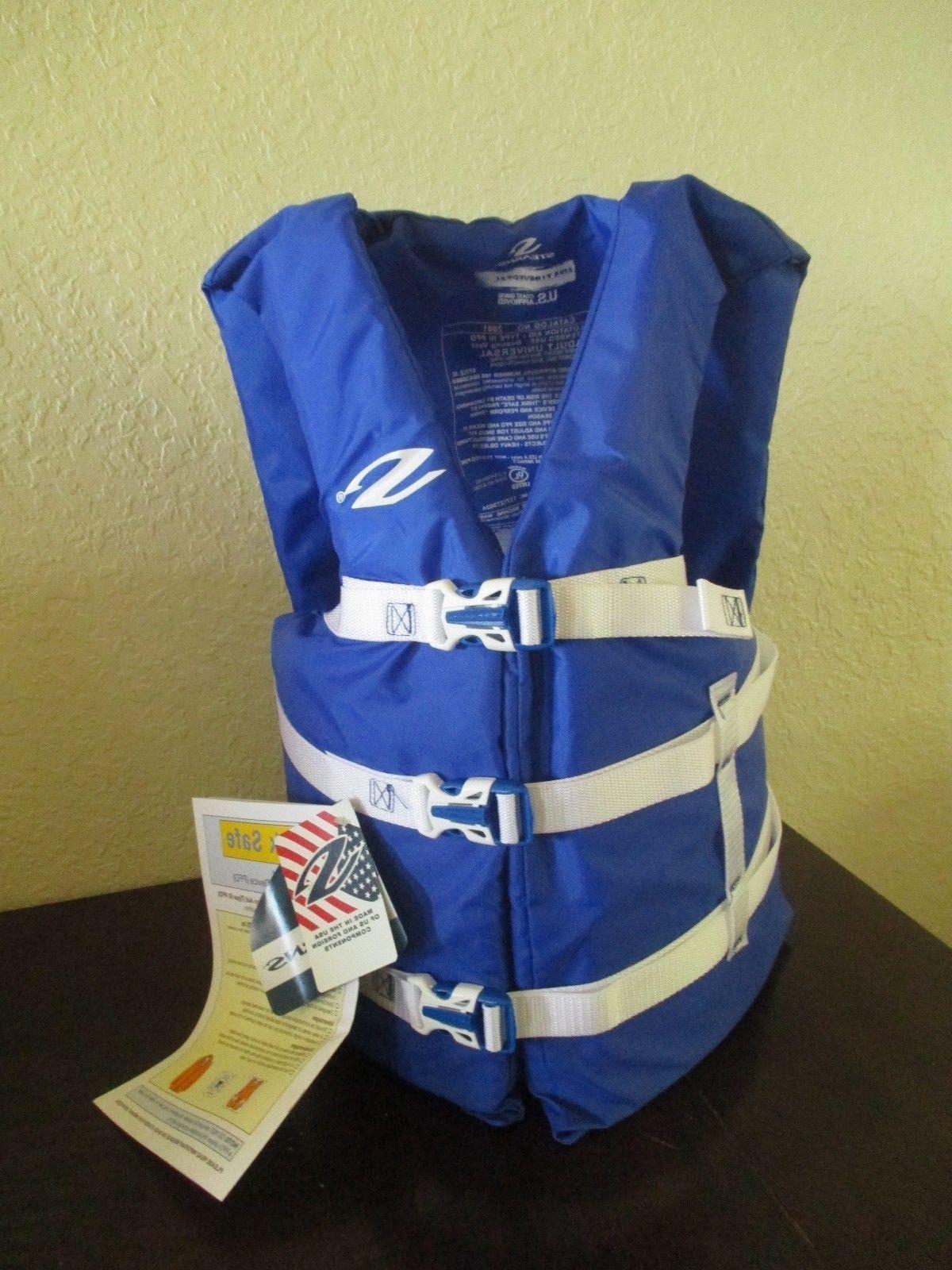 COLEMAN Stearns Adult Universal Life Flotation Vest BLUE