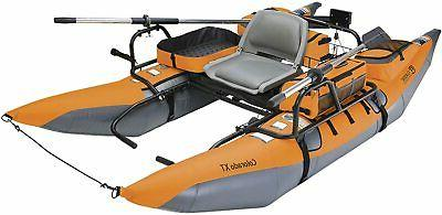 colorado xt inflatable pontoon boat with transport