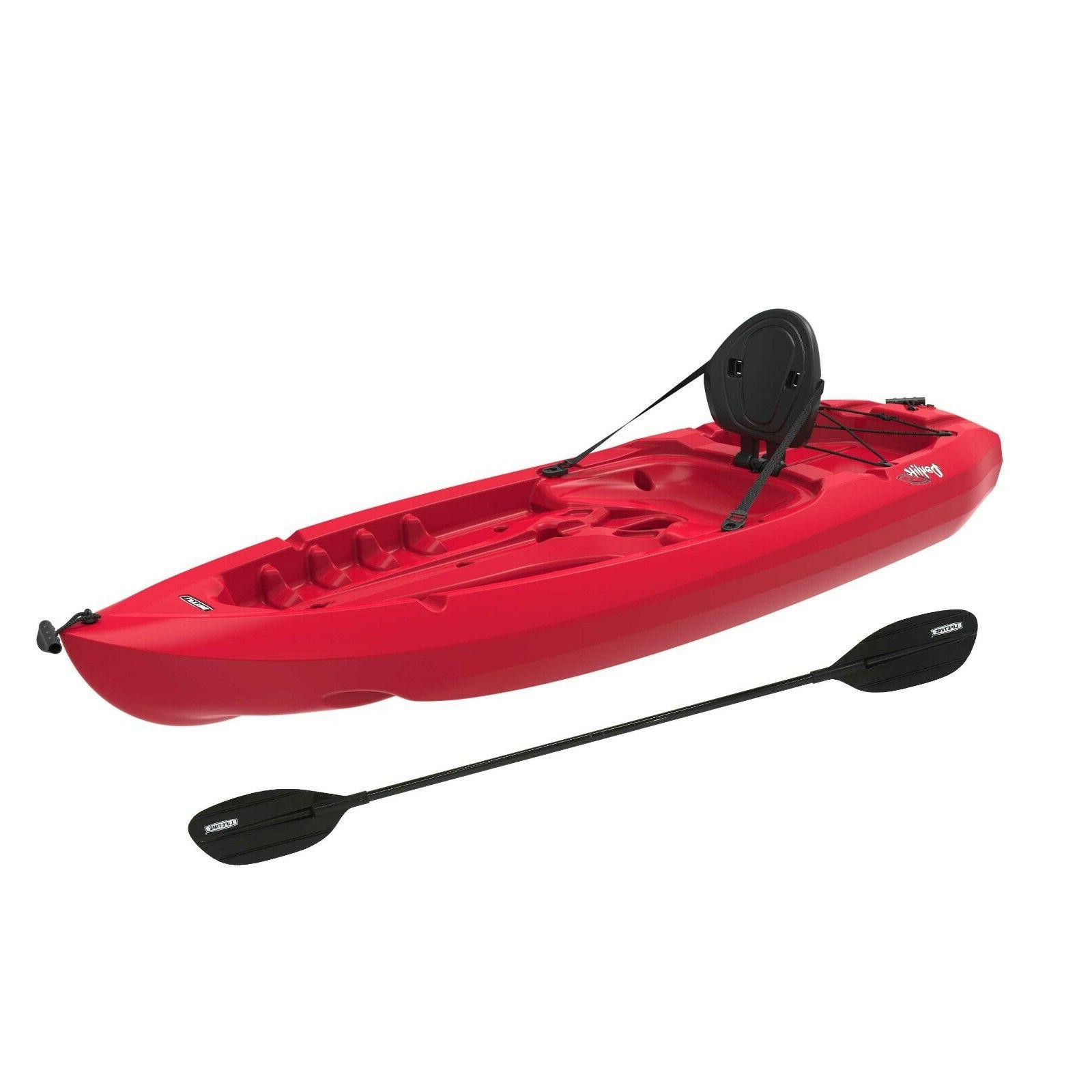 daylite 80 sit on top kayak red